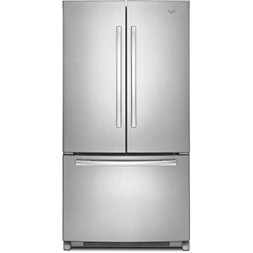Whirlpool 5GX0FHTXAF Independiente 495L A+ Acero inoxidable nevera ...