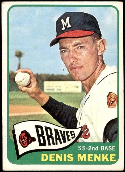 Baseball Card FAIR Braves 1959 Topps # 65 Frank Torre Milwaukee Braves Deans Cards 1.5