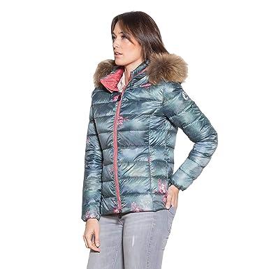 new styles e5395 2ed64 JOTT Damen Daunenjacke Steppjacke Winter Jacke Luxe Grün ...