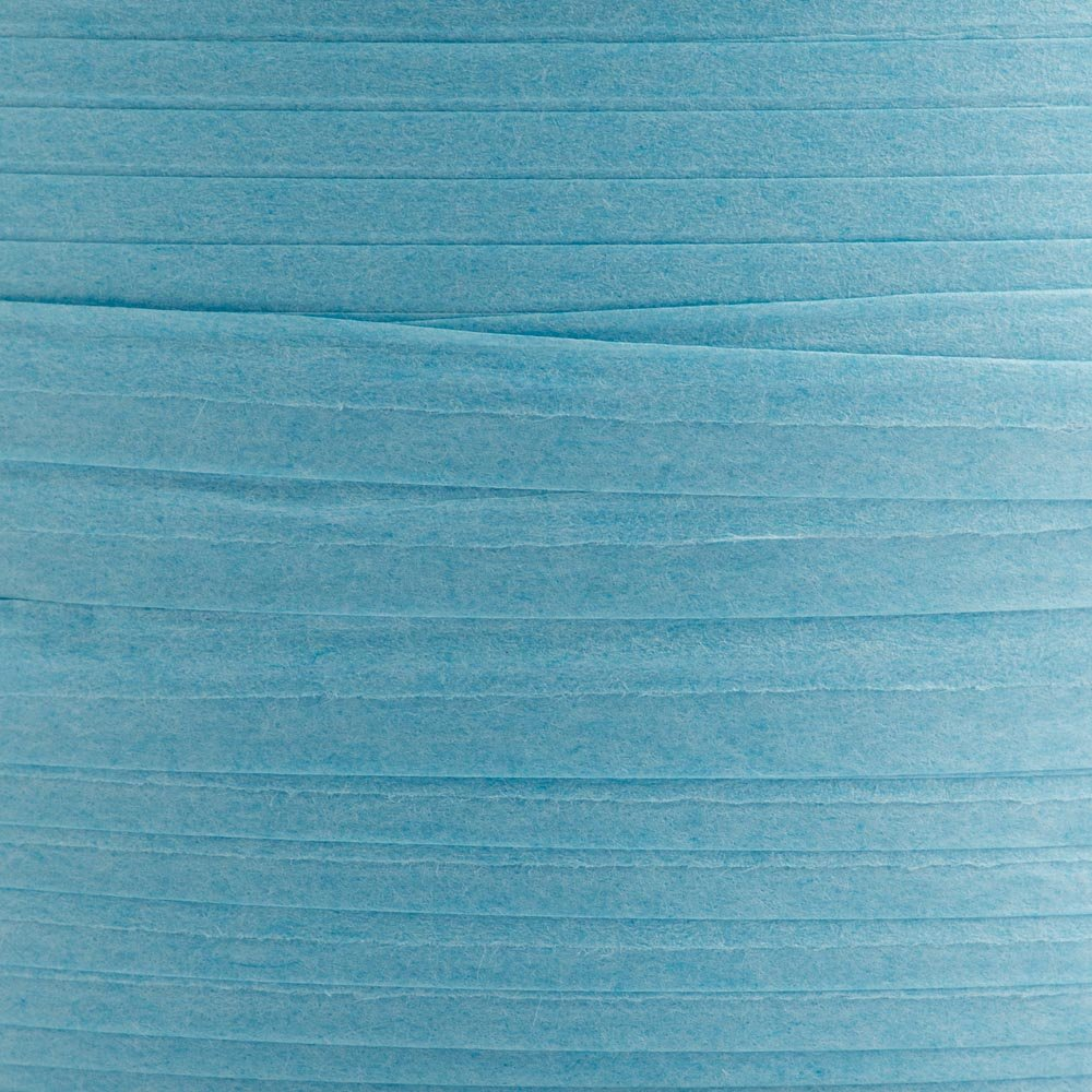 Bastpapier-Band, 7mmx100m, hellblau
