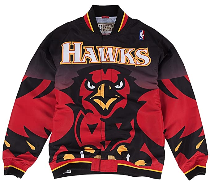 198c2e4f6d7 Atlanta Hawks Mitchell   Ness NBA Authentic 95-96 Warmup Premium Jacket