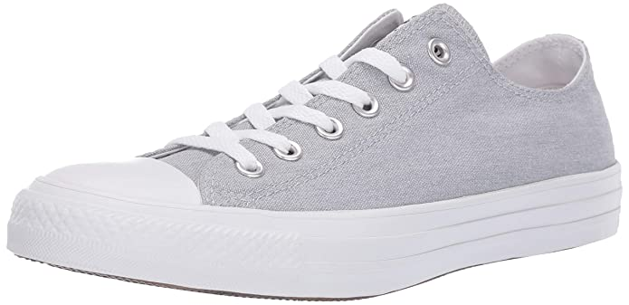 Converse Chucks Chuck Taylor All Star Low Top Ox Sneakers Unisex Grau (Wolf Grey)