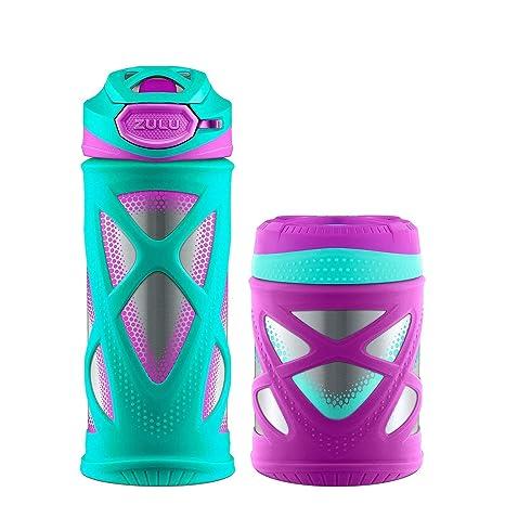 Amazon.com: Zulu - Botella de agua y recipiente para niños ...