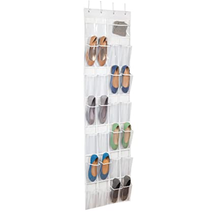 Over The Door Clear Shoe Organizer/Storage Rack  sc 1 st  Amazon.com & Amazon.com: Over The Door Clear Shoe Organizer/Storage Rack: Home ...
