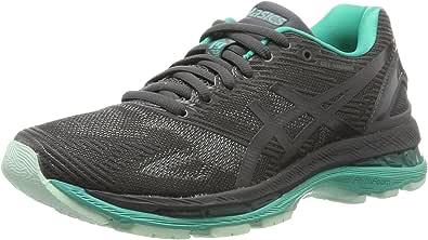Asics Gel-Nimbus 19 Lite-Show, Zapatillas de Running para Mujer, Gris (Dark Grey/Black/Reflective), 37.5 EU: Amazon.es: Zapatos y complementos