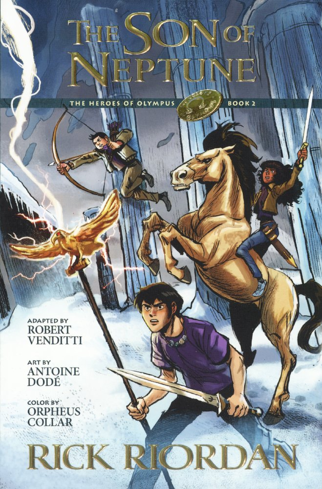 The Son Of Neptune: The Graphic Novel (Turtleback School & Library Binding Edition) (The Heroes of Olympus)