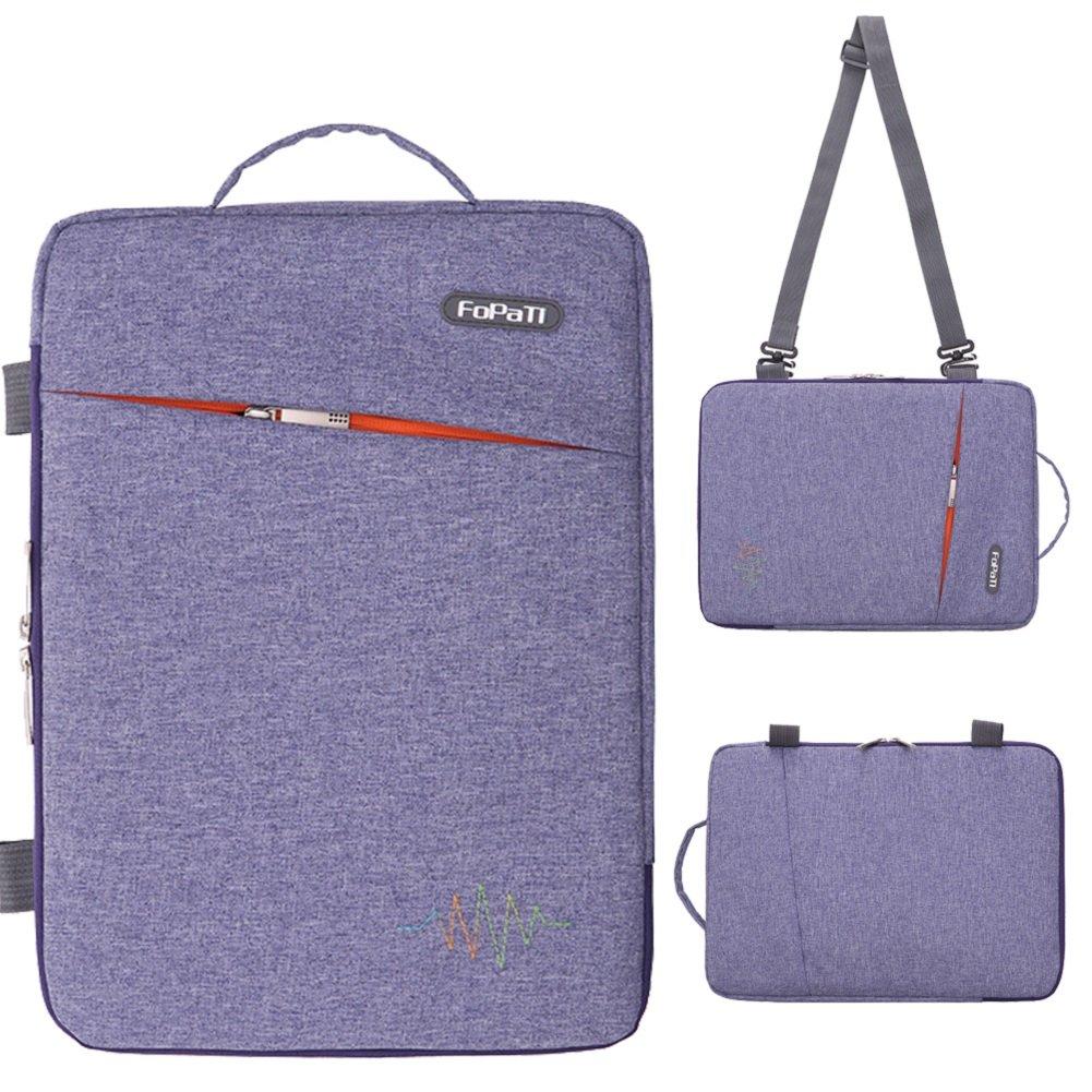 1c134b869143 FOPATI 11 - 11.6 Inch Laptop Sleeve Vertical Slipcase Shoulder Bag  Messenger Case for Apple Macbook Air 11 12  Surface Pro 2017 Surface Pro 4  3  HP ASUS ...