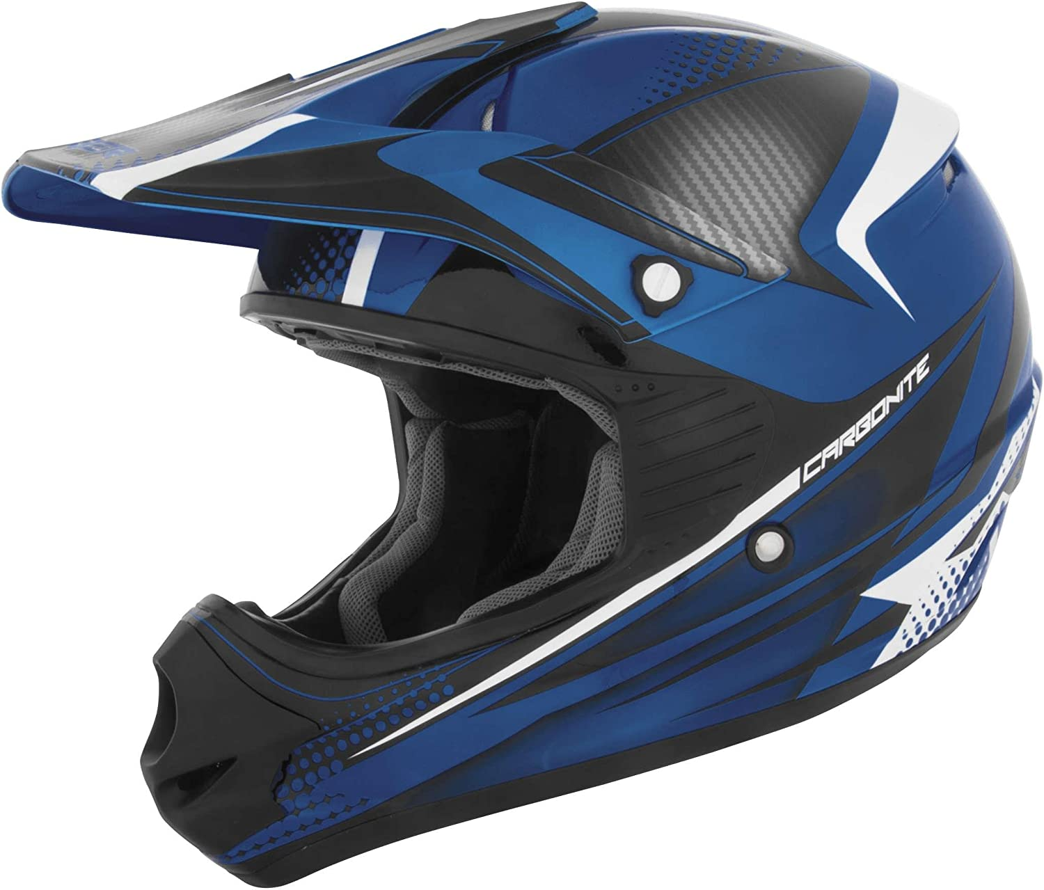 Cyber Helmets UX-23 Youth Helmet Electric Blue Blue, Large