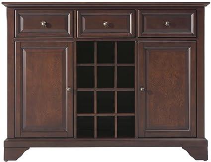 Charmant Crosley Furniture LaFayette Wine Buffet/Sideboard   Vintage Mahogany