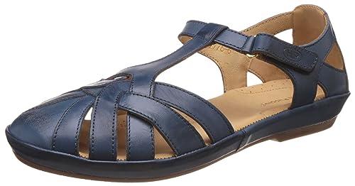 8249da3471c3 Hush Puppies Women s Cana Fishermen Blue Leather Ballet Flats - 5 UK India  (38
