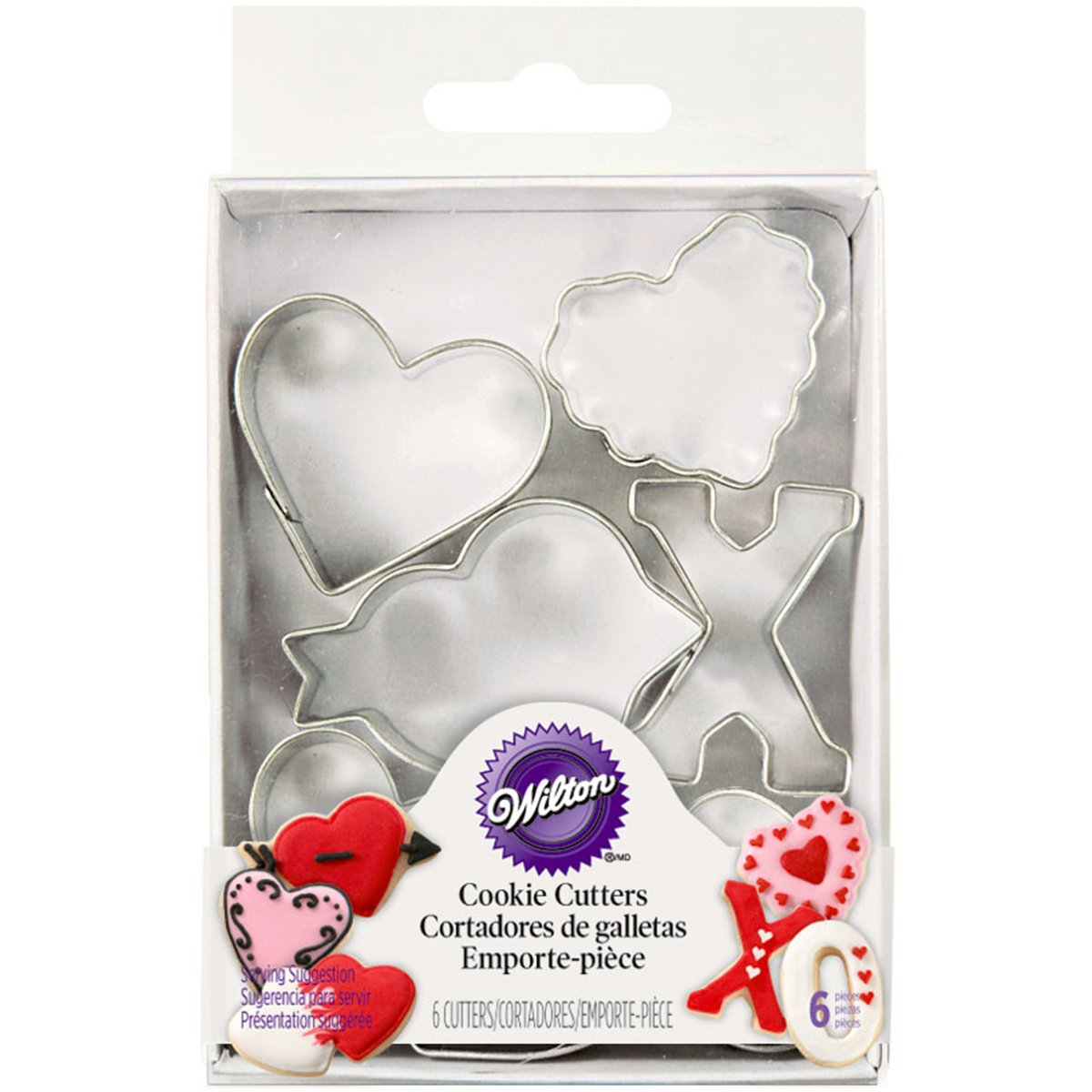 Wilton Mini Heart Cookie Cutter from 6pc set