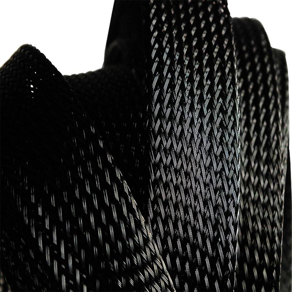 RainBabee Gaine Tress/é Extensible C/âble Protection Coupe Souple /Élastique R/ésistance au Frottement 6-12mm