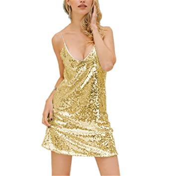 Mastojonster Sexy Silver Sequin Women Dress Deep V Neck Sleeveless Mini Dress Christmas Party Club Strap
