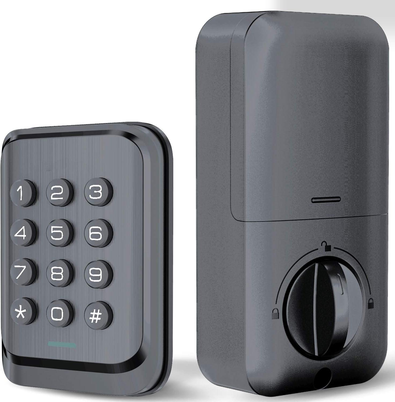 Keyless Entry Keypad Deadbolt Electronic Door Lock
