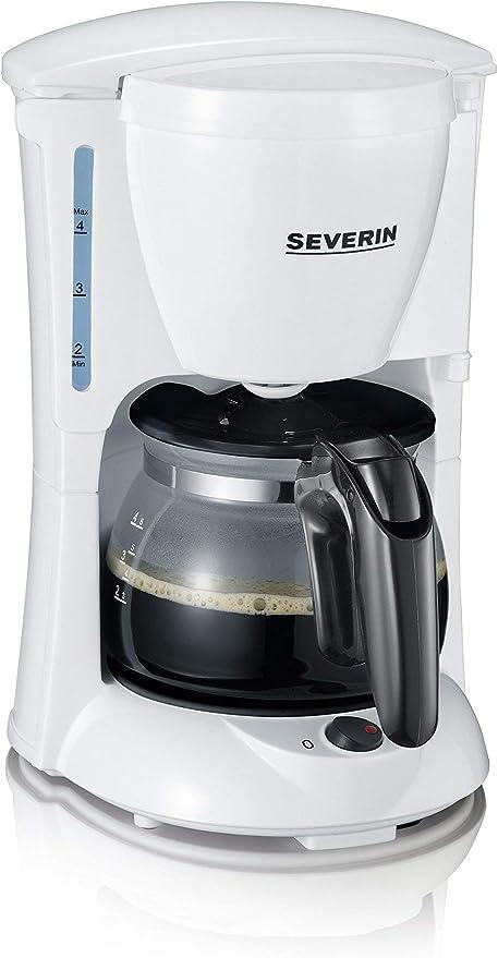 SEVERIN KA 4807 Cafetera para filtros de Café Molido, 4 tazas ...
