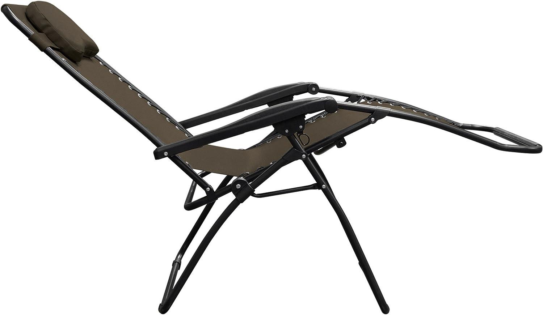Caravan Canopy Oversized Brown Zero Gravity Chair