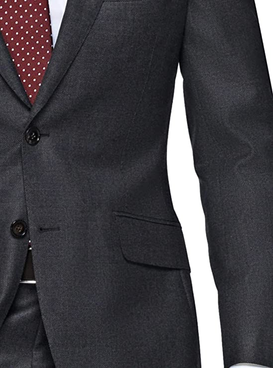 7d419ee1e44038 LN LUCIANO NATAZZI Italian Men's Suit 180'S Wool Cashmere Ticket Pocket  Jacket at Amazon Men's Clothing store: