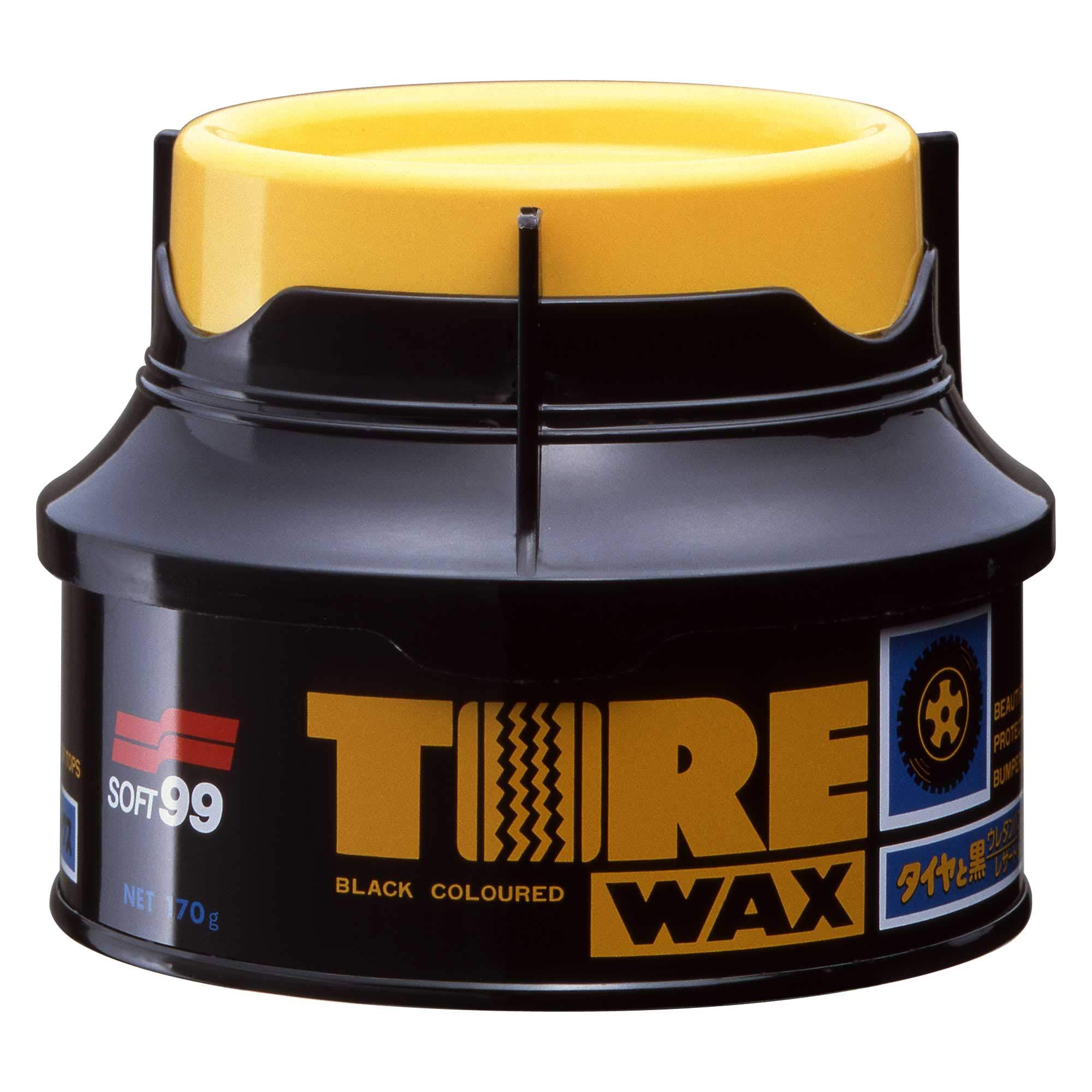 Black Tire Wax