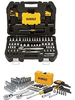 Professional Mechanic Tool Set Chrome with Case (108-Pc). Complete Mechanics Tools