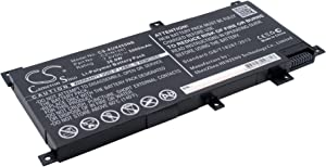 GAXI Battery for Asus F450LD4210, F455L, F455LD Replacement for P/N 0B200-01130200, C21N1401, C21N1409
