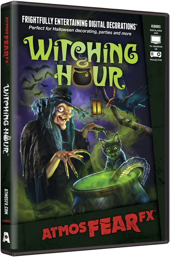 AtmosFEARfx Witching Hour Digital Decoration by AtmosFX: Amazon.es: Juguetes y juegos