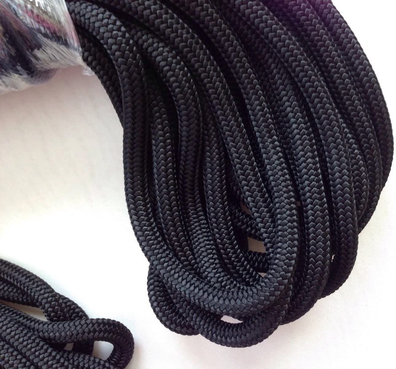 """1//2/""""25Ft Double Braid Nylon Mooring Rope Boat Dockline Anchor Line Climbing Rope"""