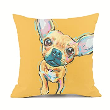 Amazon.com: Redland Art - Fundas de almohada de lino y ...