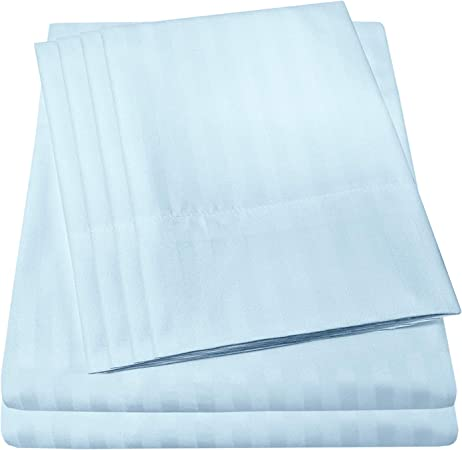 NEW 1500 Series Complete Queen Microfiber Bed Sheet and Duvet Cover Set 3038