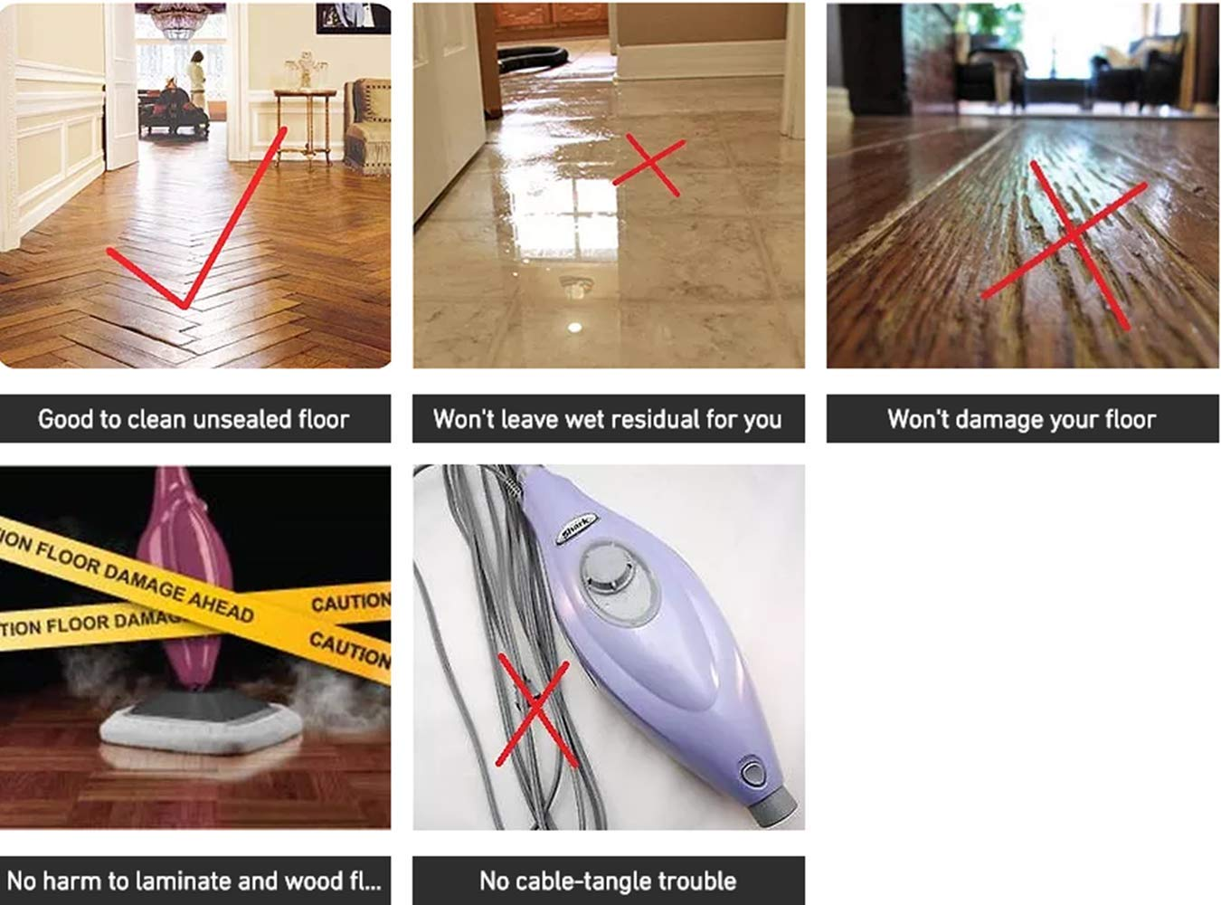 Electric Mops for Floor Cleaning -Mamibot Mopa580 Power Fresh 3-in-1 Multifunctional Cordless Electric Polisher waxer mop for All Flat Hard Floor Cleaning Marble Tile with Adjustable Handle by Mamibot (Image #8)