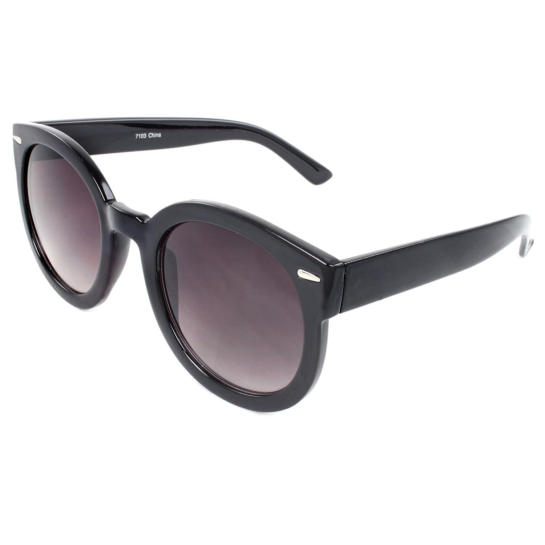 MLC EYEWEAR TU7103 Retro Shades Oval Fashion Sunglasses