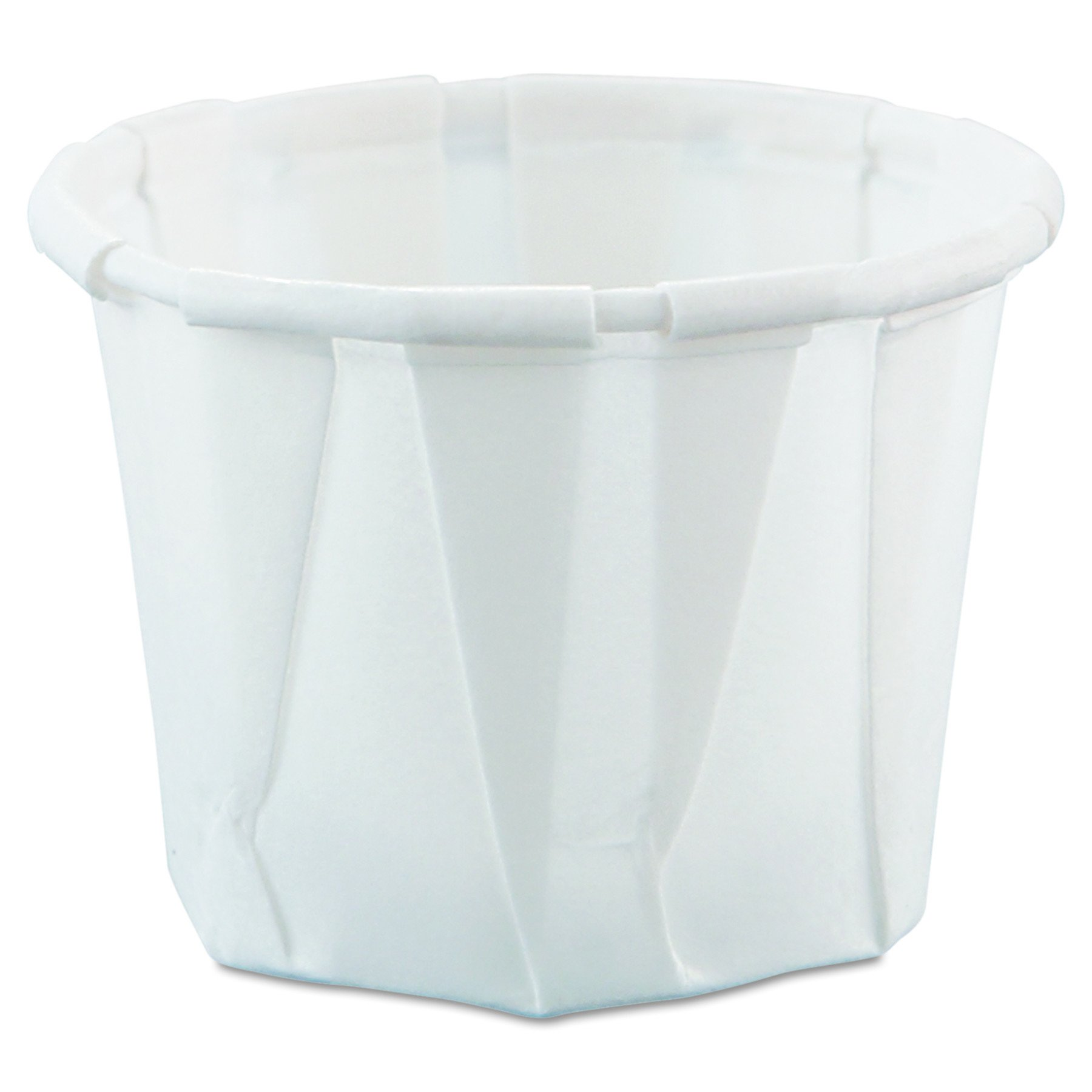 Solo 075-2050 0.75 oz Treated Paper Portion Cup (Case of 5000) by Solo Foodservice