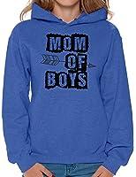 Awkward Styles Womens Mom of Boys Hoodie Hooded Sweatshirt Arrow Mothers Day ...