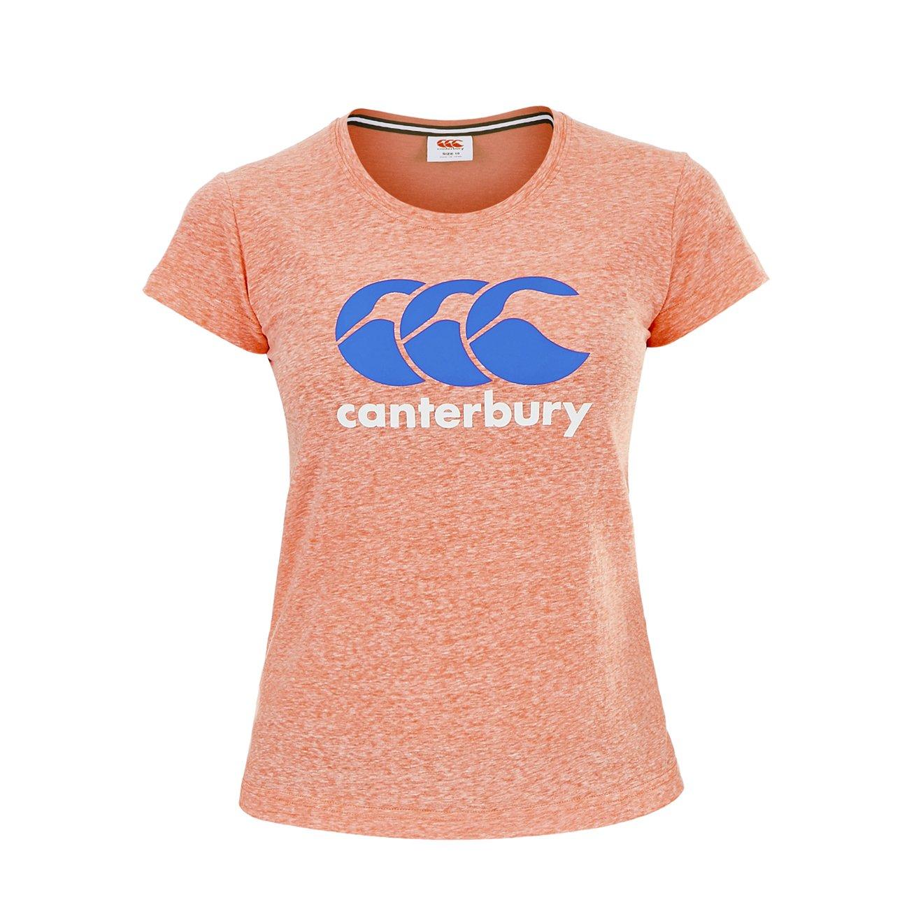 Canterbury CCC de las mujeres Logo camiseta
