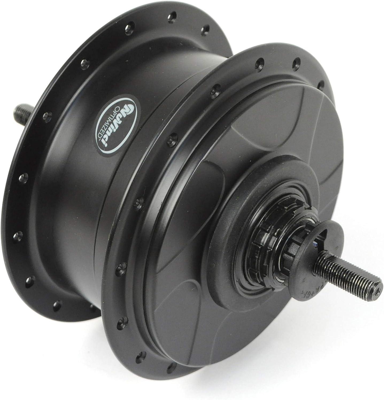 NuVinci N330 CVP Internal Gear Bicycle Rear Hub Black 32h Roller Brake C3