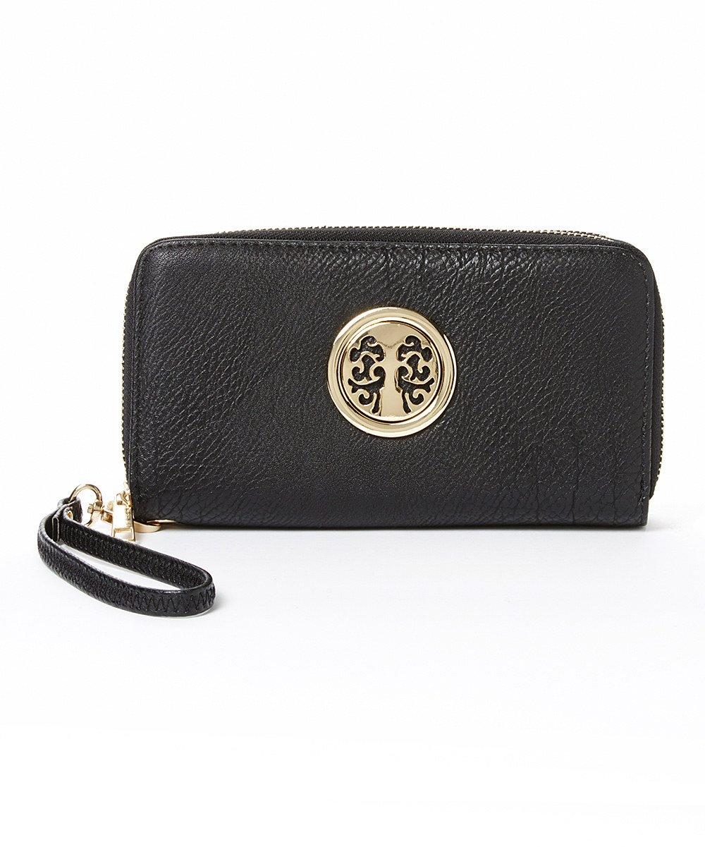 c436ba0a8b941 Galleon - Clutch Wallet ~ Women Wristlet ~ Smartphone Wristlet ~ Wristlet  Clutch ~ Designer Wallet For Women ~ ICONA Womens Clutch Wallet By MKF  Collection