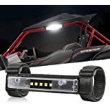 OFFROADTOWN Universal Roll Bar Mount Updated LED Light Interior Utility Roll Cage Light Courtesy Wraparound Light Roll…