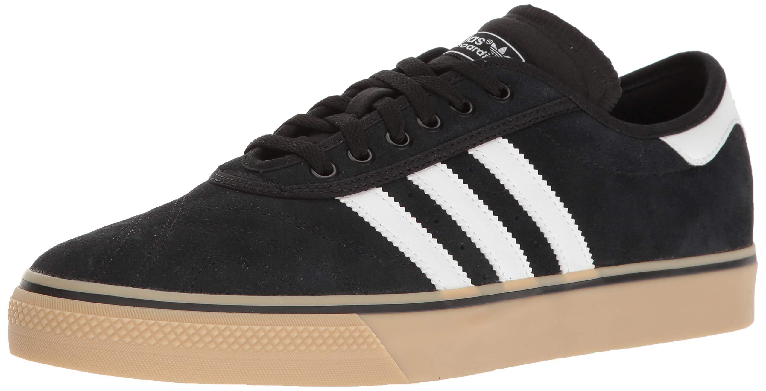 sports shoes 68392 37ab4 Galleon - Adidas Originals Mens Adi-Ease Premiere Fashion Sneaker,  BlackWhiteGum, (9.5 M US)