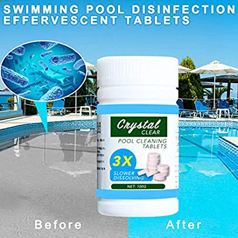 Amazon Com Magic Pool Cleaning Tablet 100 Tablets 1 Bottle Magic Swimming Pool Tup Cleaner Garden Outdoor