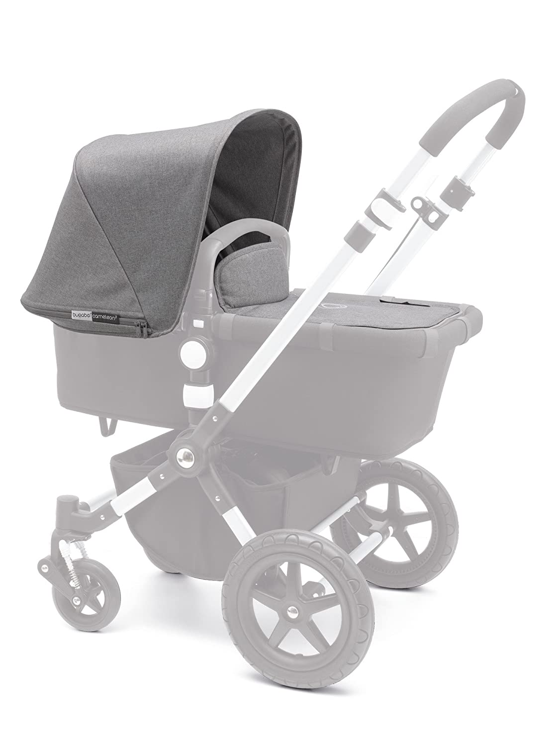 Bugaboo Frog Baby Infant Stroller Seat Frame Canvas Base Black Replacement Part