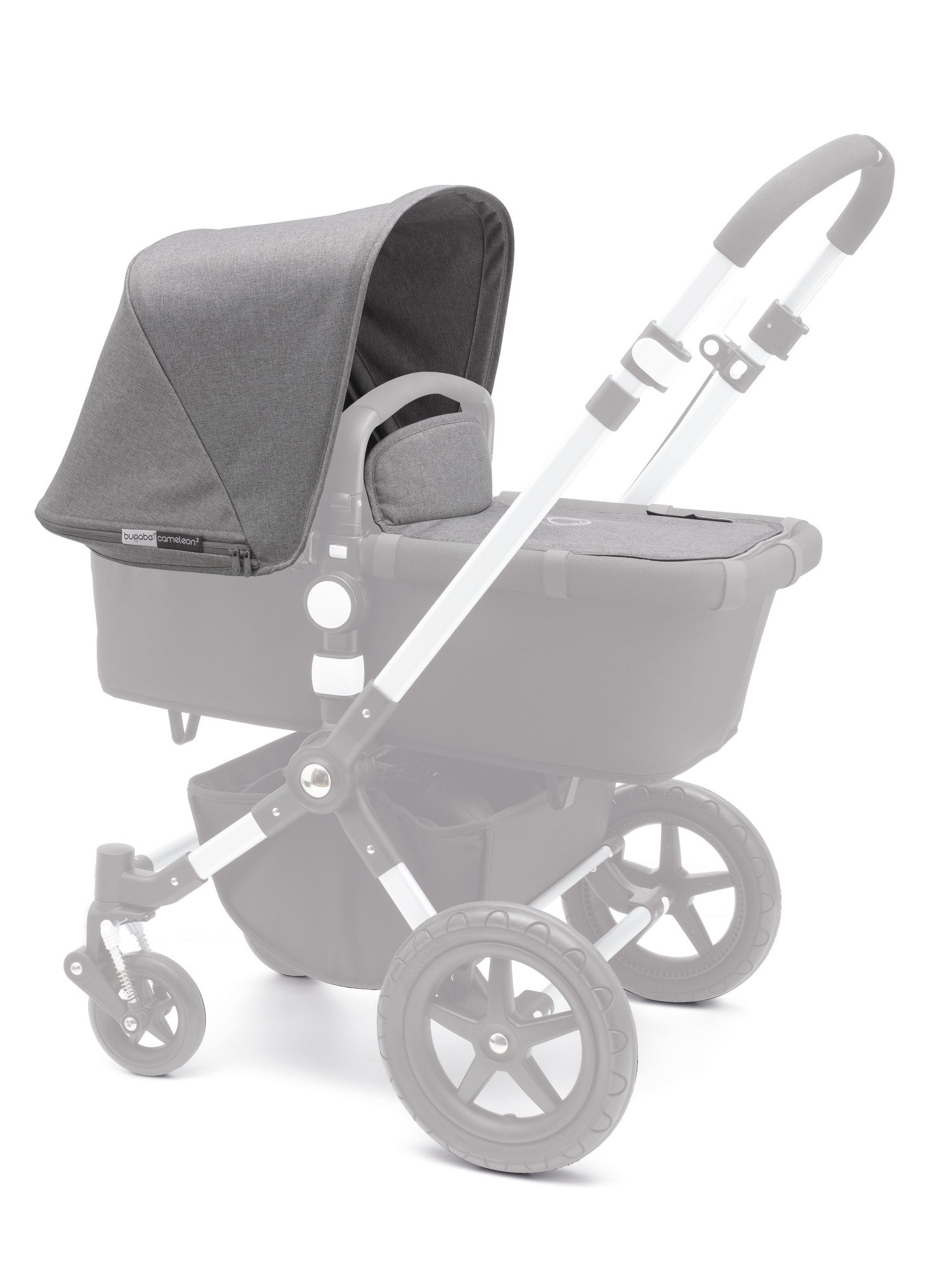 Bugaboo Cameleon³ Tailored Fabric Set, Grey Melange