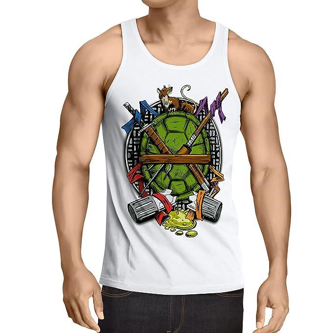 style3 Tortuga Ninja Camiseta de Tirantes para Hombre Tank ...