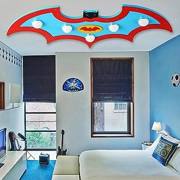 KDB Kinderzimmer Kinder Deckenleuchte Lampen Auge Cartoon Batman LED Warm  Garten Der Kindheit Und Mädchen Schlafzimmer