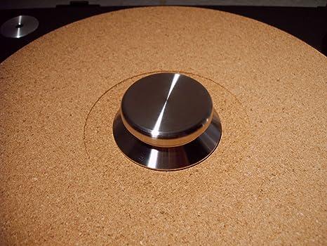 Clamp Estabilizador para tocadiscos 465 gr de acero ...