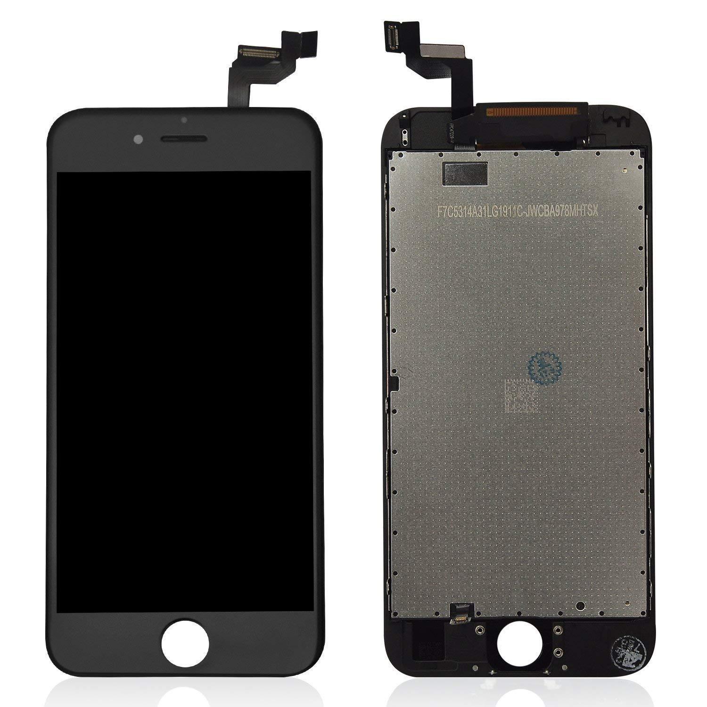 9a925885ed4 LTZGO touch screen LCD display retina vetro schermo ricambio + frame per apple  iphone 6s nero + kit smontaggio pellicola vetro temperato istruzione  manuale: ...