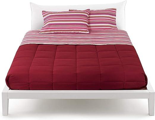 Franela 100% de puro algodón completo cama sábanas Encimera + sábana bajera con + Fundas Bassetti Time LETTO PIAZZA E MEZZA Rank Fucsia: Amazon.es: Hogar