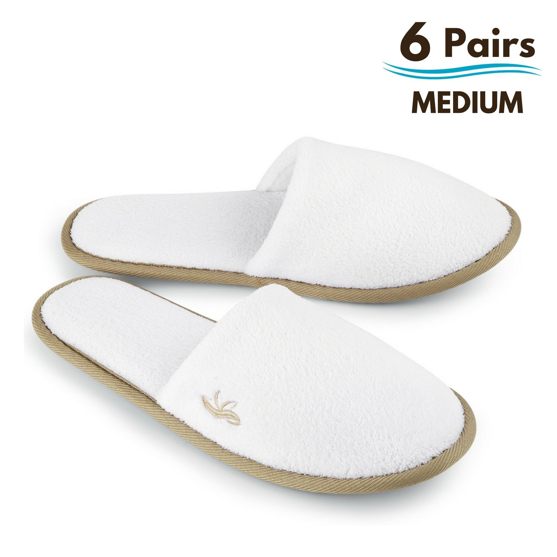 Women Men Home Hotel Soft Slippers Indoor Non-Slip Disposable Coral Velvet