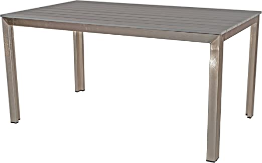 Unbekannt Table de Jardin en polywood terrasse Table Bois ...