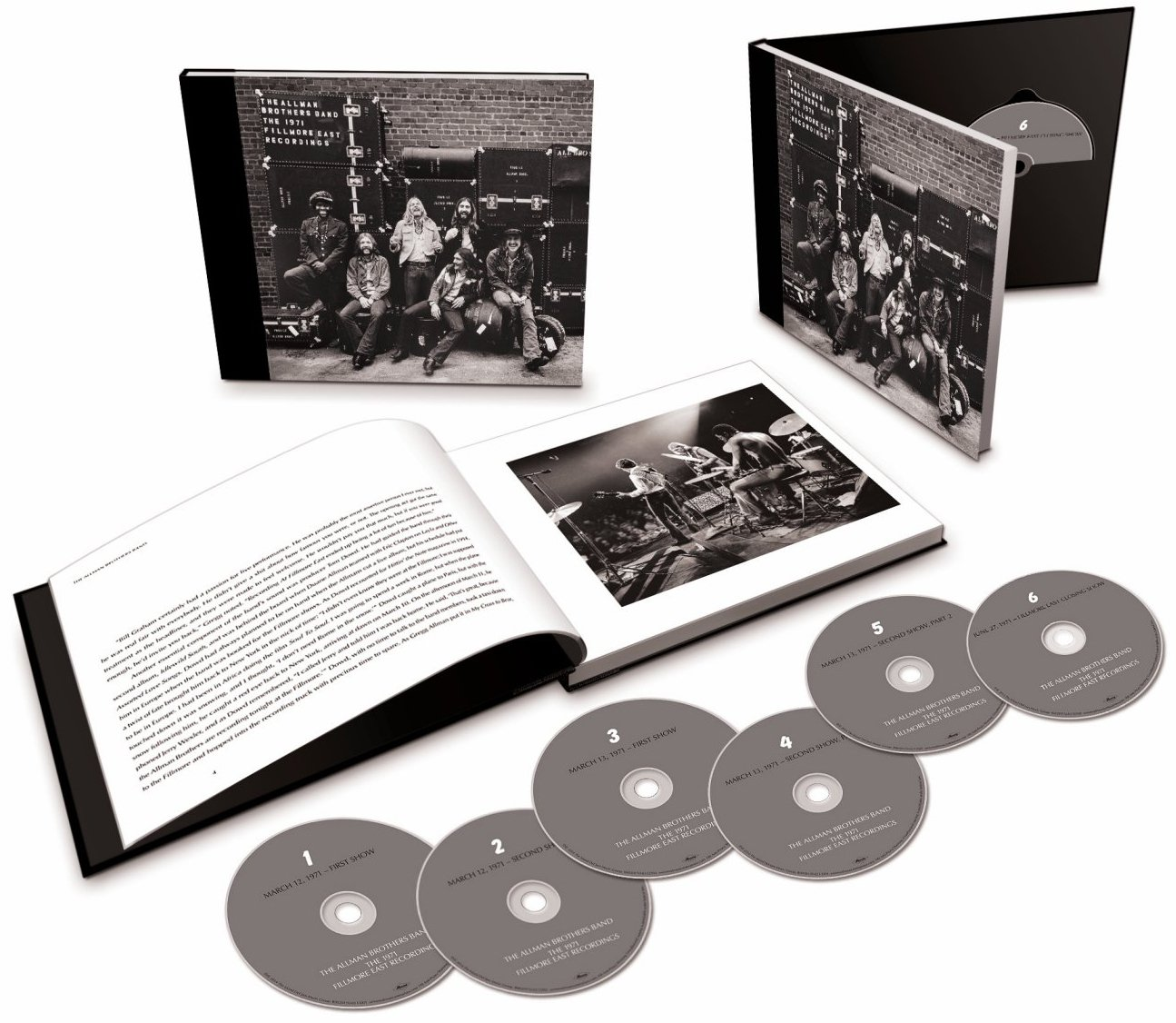 The 1971 Fillmore East Recordings [6 CD] by Mercury