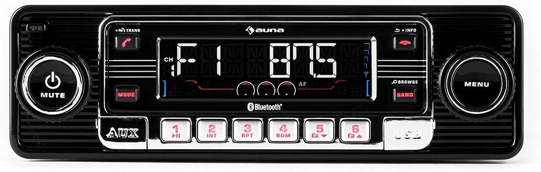 Auna Rmd Sender One Aux Freisprechanlage Retro Elektronik