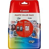 Canon PG-540XL+CL-541XL Cartucho valuepack de tinta original negro XL y tricolor XL para impresora de inyeccion de tinta Pixma